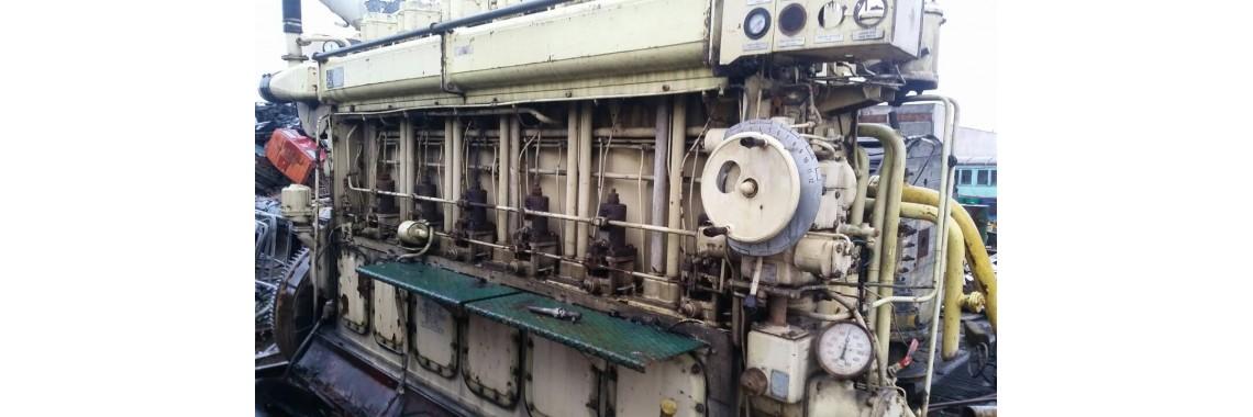 Ships diesel engines